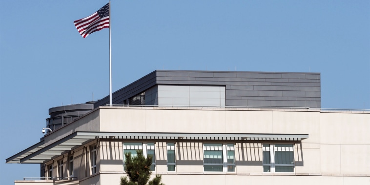 The Embassy of the United States of America in Berlin on Sept. 14, 2020.