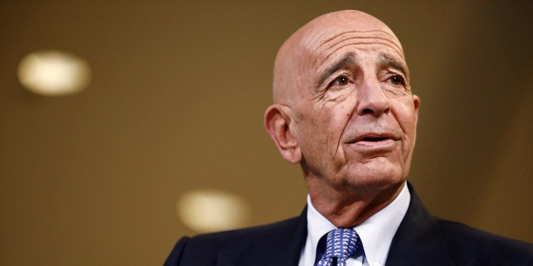 image: Tom Barrack at the Milken Institute Global Conference in California in 2018.