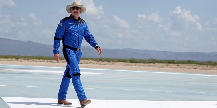 Image: Jeff Bezos' Blue Origin New Shepard Space Vehicle