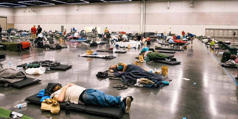 Image: Oregon cooling center