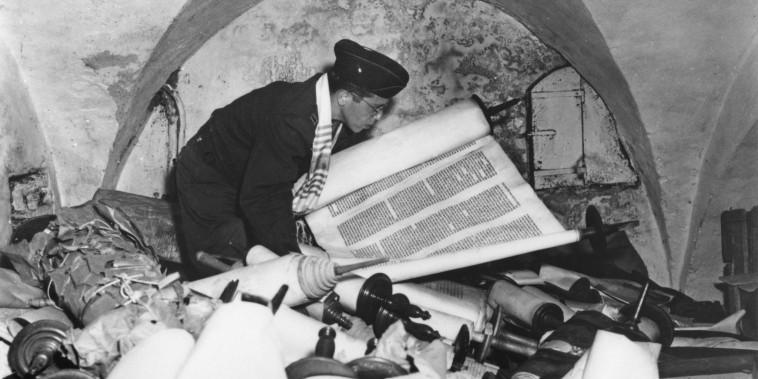 Stolen Torah Scrolls