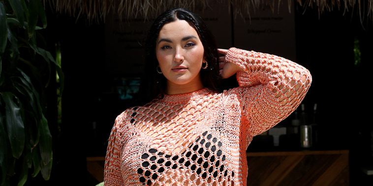 Yumi Nu attends the Sports Illustrated Swimsuit celebration of the launch of the 2021 issue at Seminole Hard Rock Hotel and Casino on Friday in Hollywood, Fla.