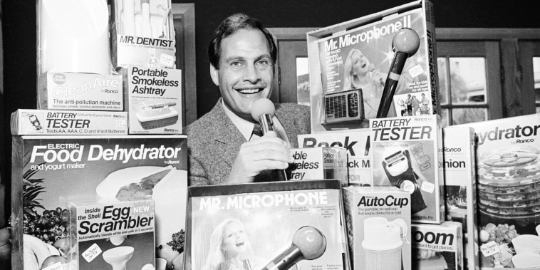 Ron Popeil in his office in Beverly Hills, Calif., on Dec. 8, 1982.