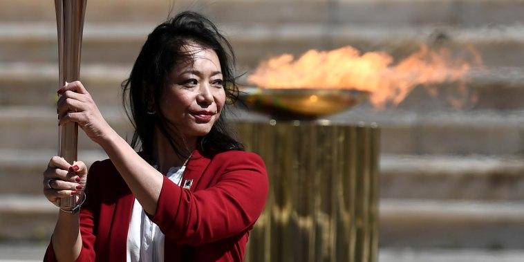 Olympics - Olympic Flame Handover Ceremony