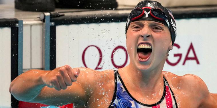 Image: katie Ledecky 1500 m win