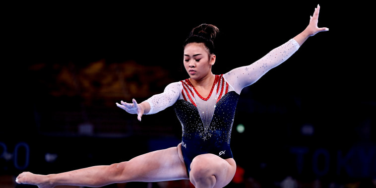 Image: Sunisa Lee of the United States performs on the balance beam at the Tokyo 2020 Olympic Games.