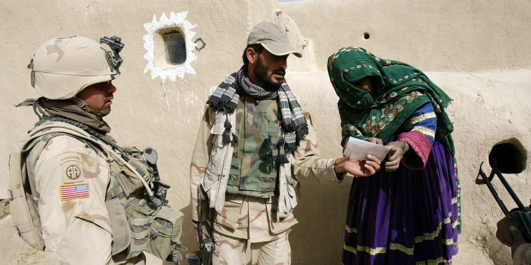 Image: U.S. Army Soldiers from 2-27th Infantry Search Khushamand Village For A Taliban Sympathizer, Paktika Province