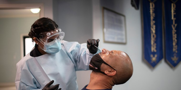 Coronavirus Testing Continues In Florida