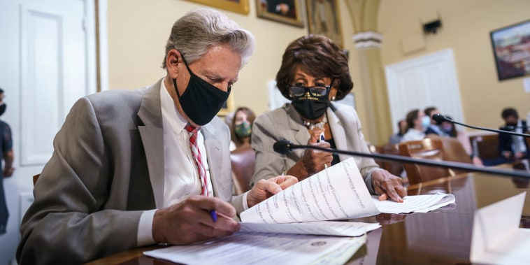 Image: Frank Pallone, Maxine Waters