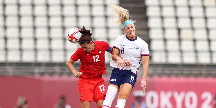 Image: USA v Canada: Women's Football Semifinal - Olympics: Day 10
