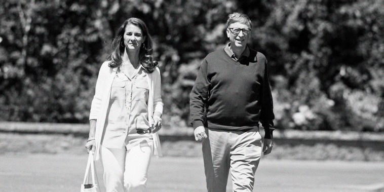 Image: Bill and Melinda Gates during the Allen and Co. Media and Technology Conference in Sun Valley, Idaho, on July 10, 2014.