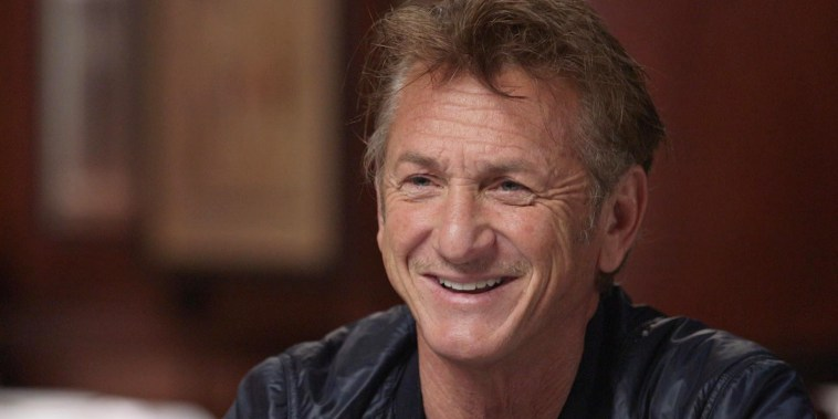 Sean Penn sits down with Willie Geist on Sunday TODAY.