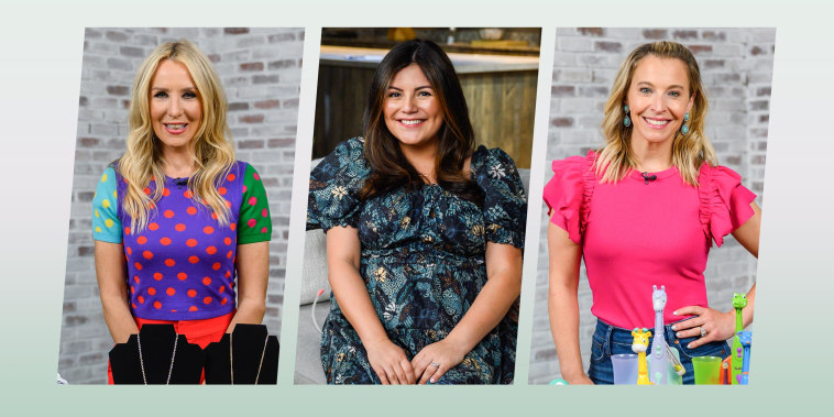 Chassie Post, Adrianna Brach and Jenn Falik on Shop All Day Broadcast