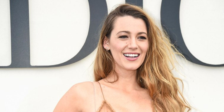 Blake Lively attends the Christian Dior show as part of the Paris Fashion Week Womenswear Spring/Summer 2019