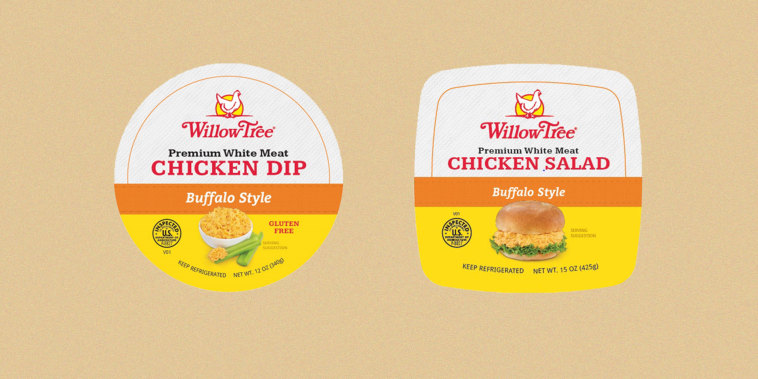 Willow Tree Poultry Farms recalled more than 52,000 pounds of chicken salads and dips.