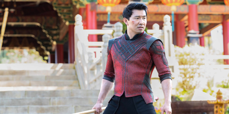 """Image: Simu Liu as Shang-Chi in Marvel Studio's \""""Shang-Chi and the Legend of the Ten Rings.\"""""""