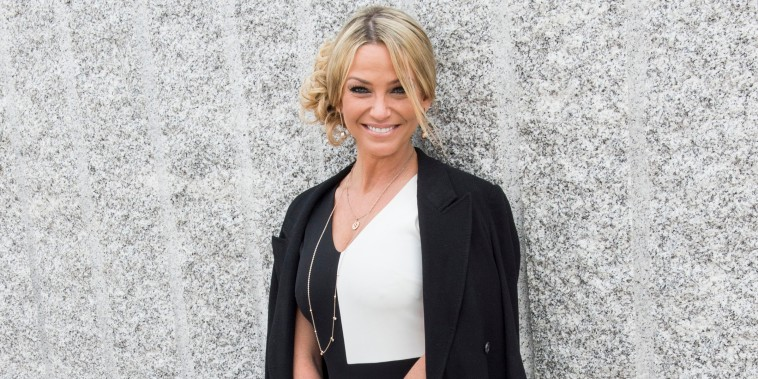 Sarah Harding attends Chelsea Flower Show press day at Royal Hospital Chelsea on May 23, 2016.