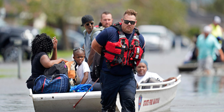 Image: New Orleans water rescue