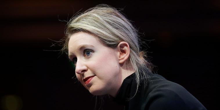 Elizabeth Holmes speaks at the Fortune Global Forum in San Francisco on Nov. 2, 2015.
