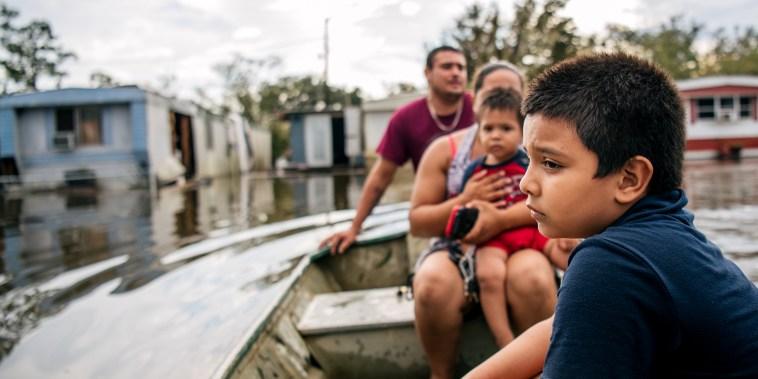 Image: Hurricane Ida Bears Down On Louisiana As A Major Storm