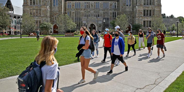Image: Boston College Campus