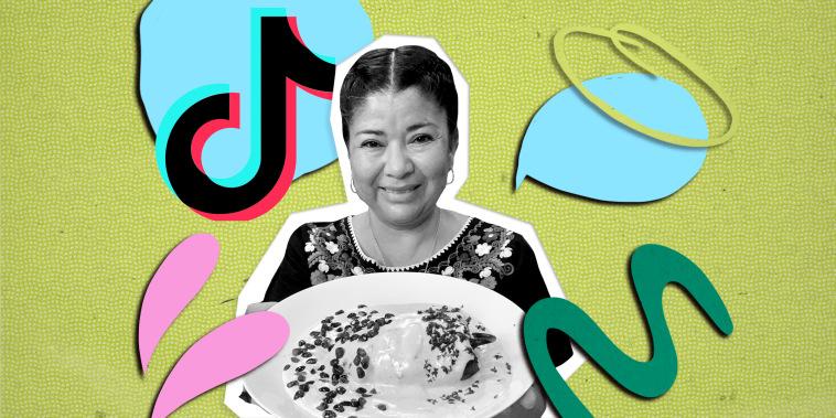 Latina Tik Tok Food Creators