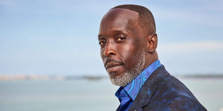 Michael K. Williams attends the 27th Annual Screen Actors Guild Awards on March 31, 2021, in Miami.