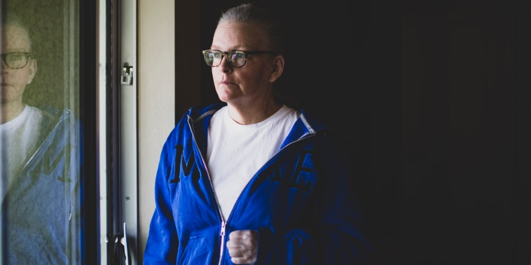 Image: Jennifer Waddleton at her home on Sept. 9, 2021 in Lehigh Acres, Fla.