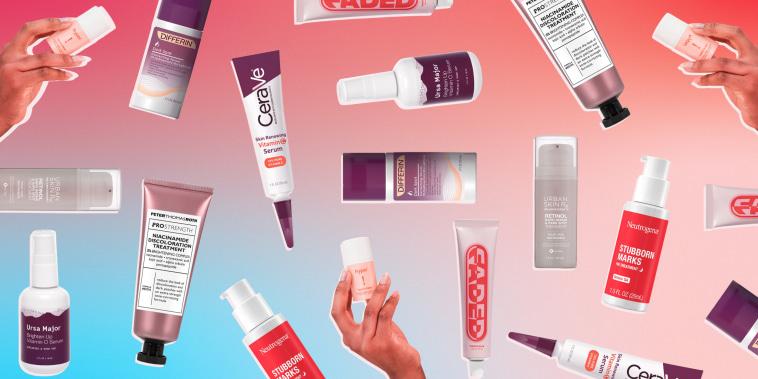 Illustration of 10 dark spot creams you can buy