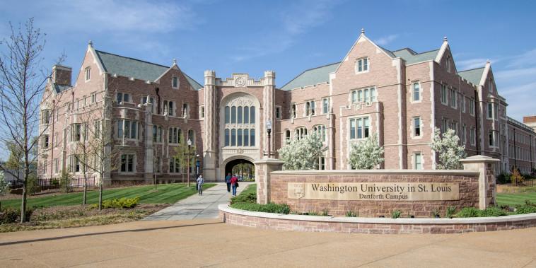 Washington University in St. Louis.