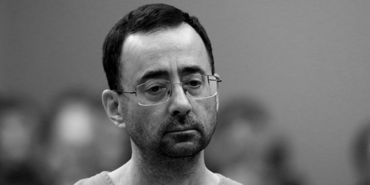 former Michigan State University and USA Gymnastics doctor Larry Nassar