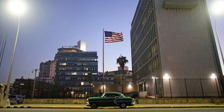 The U.S. Embassy in Havana in 2017.