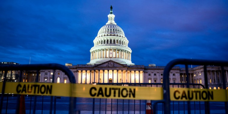 Image: The Capitol after the government shutdown on Dec. 22, 2018.