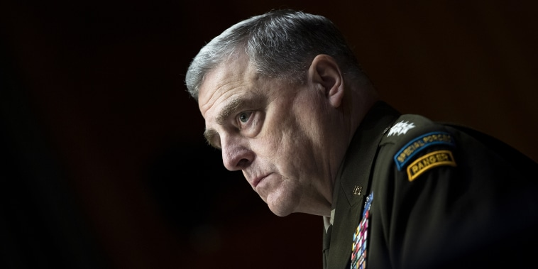 Image: Mark Milley, Defense Chiefs Testify On Department Of Defense 2022 Budget