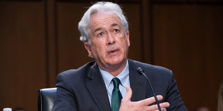 Image: WIlliam Burns, Intelligence Chiefs Brief Senate On Worldwide Threats To National Security