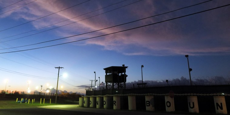 An unused portion of the U.S. detention facility in Guantanamo Bay, Cuba, on Oct. 16, 2018.