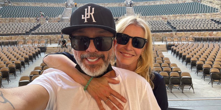 Handler confirmed the relationship rumors by sharing a photo kissing fellow comedian Jo Koy.