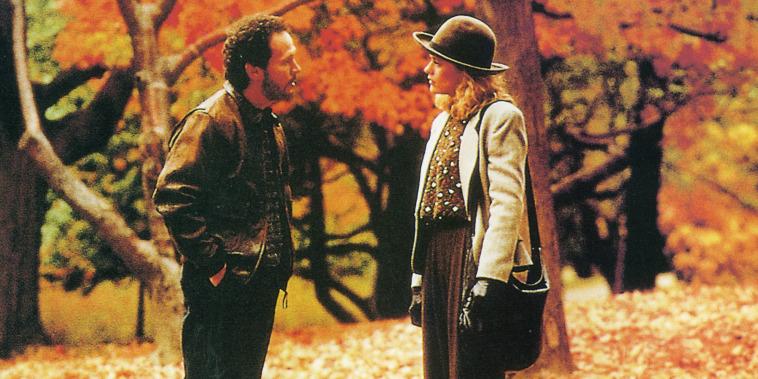 Meg Ryan and Billy Crystal in When Harry Met Sally, 1989.