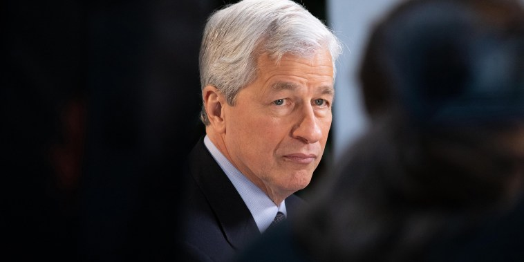 JPMorgan & Chase Co. Chief Executive Officer Jamie Dimon Interview