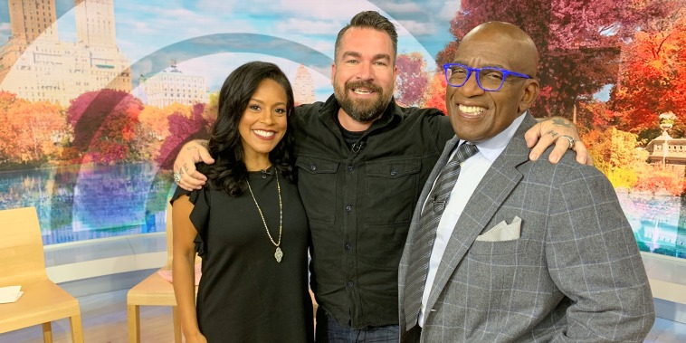 """Isaac Fitzgerald, bestselling author behind \""""How to Be a Pirate\""""on the TODAY show with Al Roker and Sheinelle Jones"""