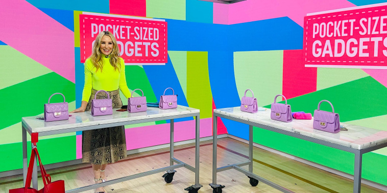 Chassie Post on the TODAY show sharing purse sized life savers