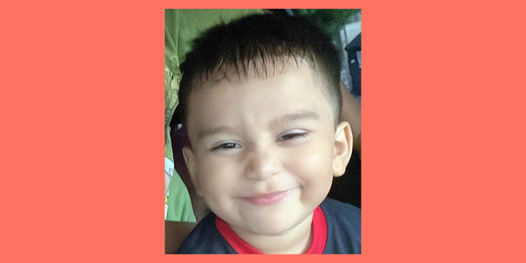 Three-year-old Christopher Ramirez