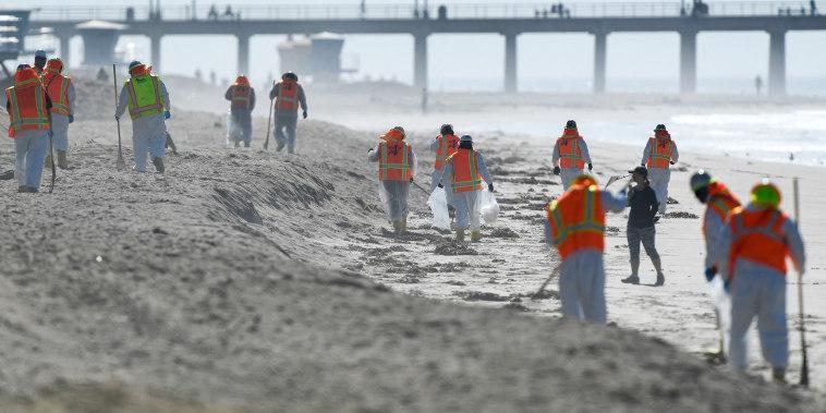 Image: Oil spill