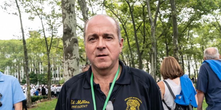 Image: Sergeants Benevolent Association president Ed Mullins