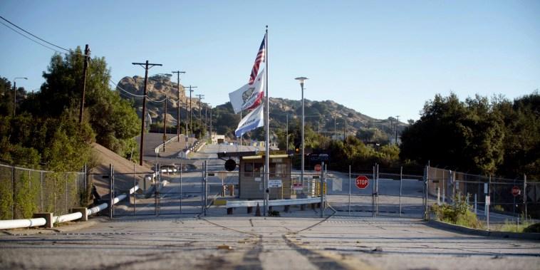 Image: The entrance to the Santa Susana Field Lab in Brandeis, Calif.