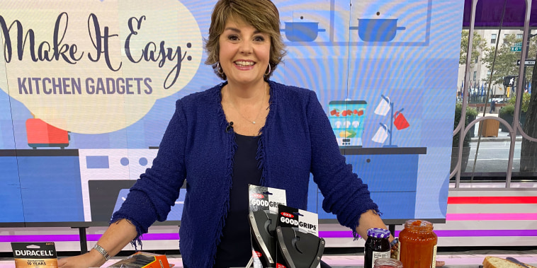 Jill Bauer on TODAY broadcast talking about Kitchen hacks