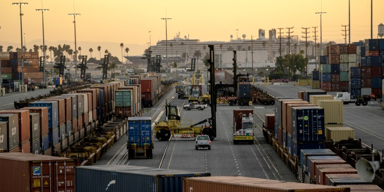 Port Of Los Angeles To Operate Around The Clock To Ease Cargo Logjams