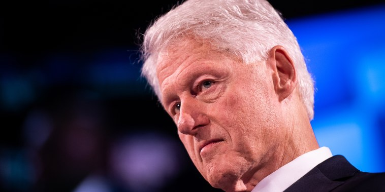 Image: Bill Clinton, Key Speakers At The Bloomberg Global Business Forum