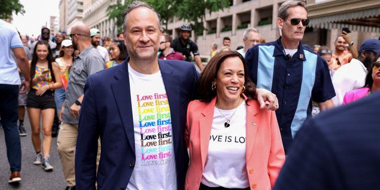 Vice President Harris Joins Pride Parade In Washington, DC