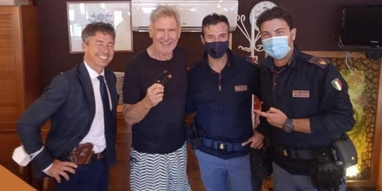 Harrison Ford Loses His Credit Card In Palermo, Citizen Returns It